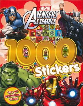 AVENGERS ASSEMBLE 1000 STICKRS (ตท.)