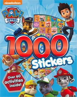 PAW PATROL 1000 STICKERS (ตท.)