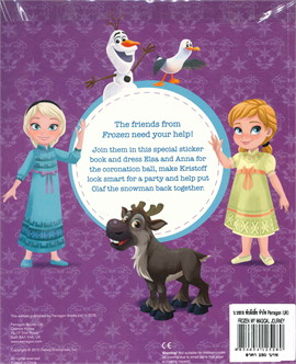 FROZEN STICKER DRESS UP BOOK (ตท.)