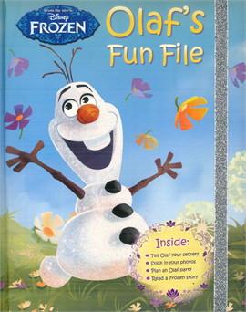 OLAFS FUN FILE BOOK OF SECRETS (ตท.)