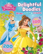 DISNEY PRINCESS DOODLE BOOK (ตท.)