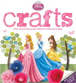 DISNEY PRINCESS CRAFT BOOK (ตท.)
