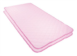 แผ่นรองนอน Cool Magic สีชมพู