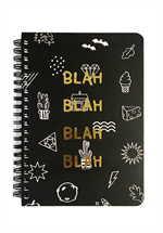 Ghostpop spring note - BLACK