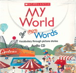 MY WORLD OF MORE WORDS AUDIO CD