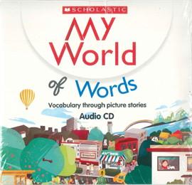 MY WORLD OF WORDS AUDIO CD