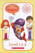 I Love Reading Phonics Level 1 & 2