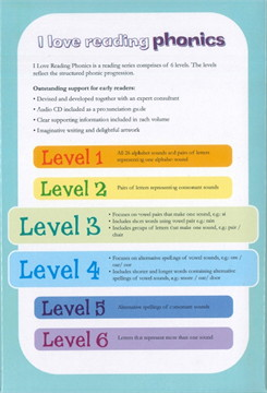 I Love Reading Phonics Level 3 & 4
