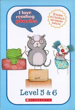 I Love Reading Phonics Level 5 & 6