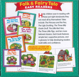 Folk&Fairy Tale Easy Readers Parent Pack