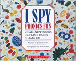 I SPY PHONICS FUN BOXSET W/ CD