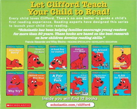CLIFFORD PHONICS FUN PACK 4 (W/CD)
