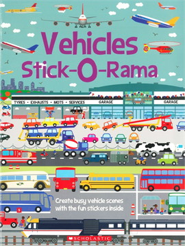 STICK-O-RAMA: VEHICLES