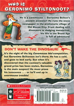 GS CAVEMICE 6 DON`T WAKE THE DINOSAUR!