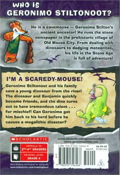 GS CAVEMICE 7 I'M A SCAREDY-MOUSE!
