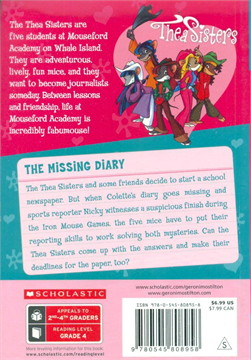 TS MOUSEFORD ACADEMY 2 THE MISSING DIARY