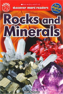 SCHOLASTIC LVL 2 ROCKS AND MINERALS