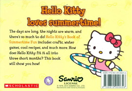 HELLO KITTY'S BOOK OF SUMMERTIME FUN