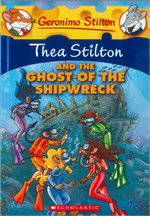 TS3 THEA STILTON AND THE GHOST