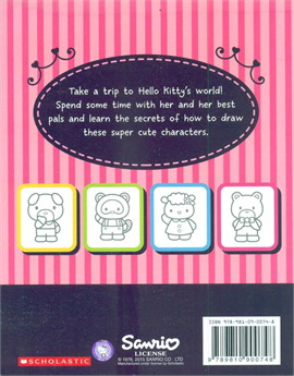 How to Draw Hello Kitty and Her Friends