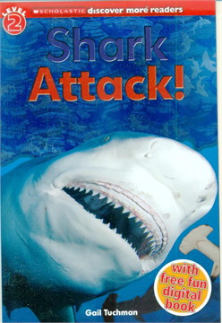 SCHOLASTIC LVL 2 SHARK ATTACK!