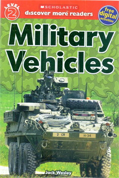 SCHOLASTIC LVL 2 MILITARY VEHICLES