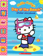 HELLO KITTY STICKER AT THE BEACH