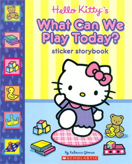 HELLO KITTY STICKER WHAT CAN WE PLAY