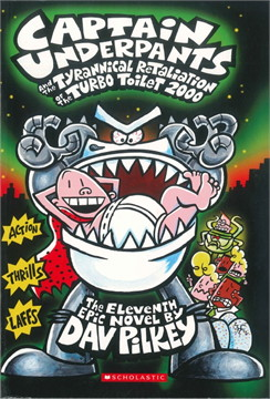 Captain underpants - The tyrannical