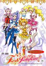 ระบายสี Fresh Pretty Cure FP322+สติ๊กเกอ