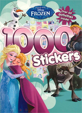 DISNEY FROZEN 1000 STICKERS