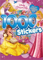 DISNEY PRINCESS 1000 STICKERS