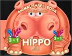 หนังสือกิจกรรมรูปสัตว์ : ฮิปโป : HIPPO