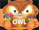 หนังสือกิจกรรมรูปสัตว์ : นกฮูก : OWL