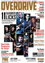 Overdrive Guitar Magazine Issus 203