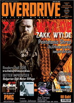 Overdrive Guitar Magazine Issus 205