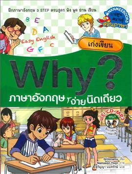 Why? ภาษาอังกฤษง่ายนิดเดียว เก่งเขียน