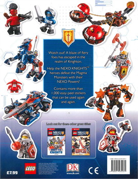 LEGO NEXO KNIGHTS Ultimate Sticker collection
