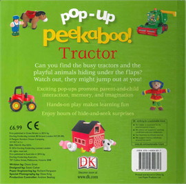Pop-up Peekaboo Tractor