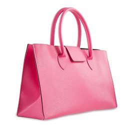 กระเป๋าหนัง(เล็ก)สีชมพู No.11