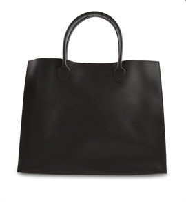 กระเป๋าหนัง(ใหญ่)สีดำ No.1