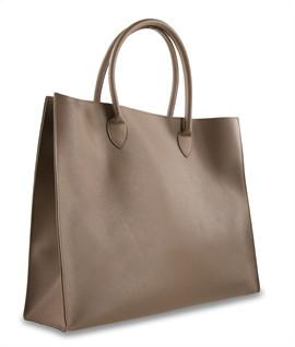 กระเป๋าหนัง(ใหญ่)สีน้ำตาล No.5