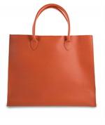 กระเป๋าหนัง(ใหญ่)สีส้ม No.8