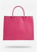 กระเป๋าหนัง(ใหญ่)สีชมพู No.11
