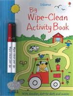 BIG WIPE CLEAN ACTIVITY BOOK