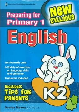 K2 Preparing For P1 English