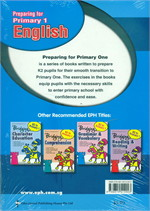 K2 Preparing For P1 English