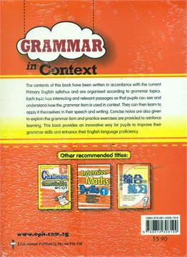 P1 Grammar In Context