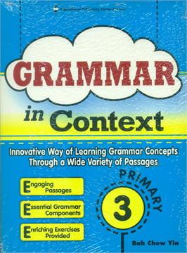 P3 Grammar In Context