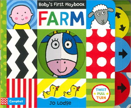 Baby's first play book : farm